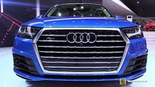 2016 Audi Q7 TFSI Quattro S-Line - Exterior and Interior Walkaround - 2015 Detroit Auto Show