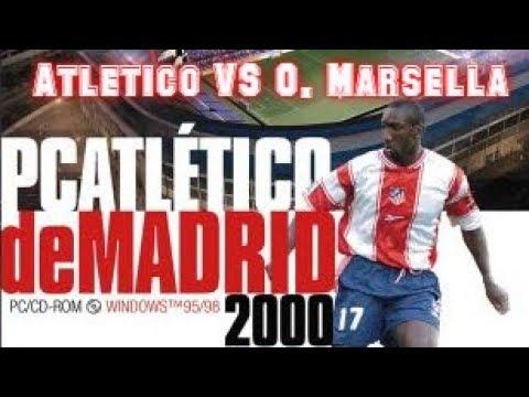 PC Atlético de Madrid 2000 (1999) - PC - At. Madrid vs O. Marsella