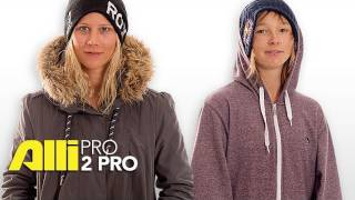 Alli Snowboard - Pro 2 Pro: Kjersti Buaas and Sarka Pancochova Conversation at Winter Dew Tour