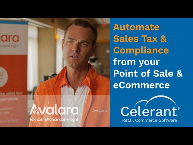 Automate Sales Tax & Compliance from your Point of Sale & eCommerce