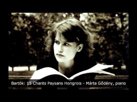 Bartok: 15 Chants Paysans Hongrois / Tizenöt magyar parasztdal / 15 Hungarian Peasant Songs BB 79