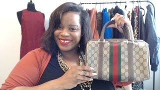Designer Thrift Haul: Gucci, Michael Kors, Coach GOODWILL