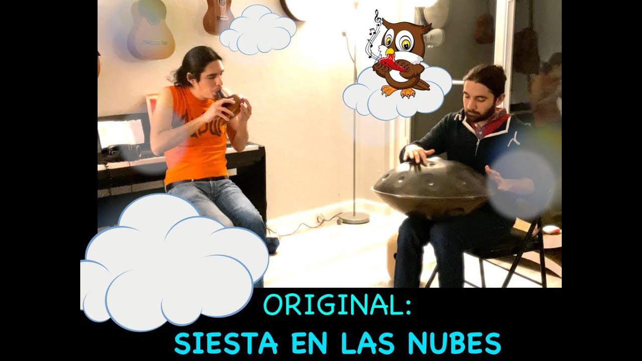 Siesta en Las Nubes (ORIGINAL) || Ocarina and Handpan LoFi for Chilling #1