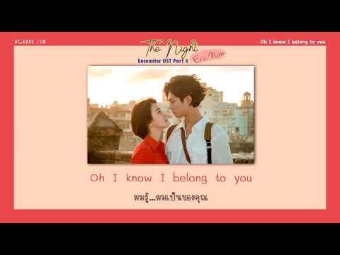 [THAISUB] Eric Nam (에릭남) - The Night (그 밤) [Encounter OST Part 4]