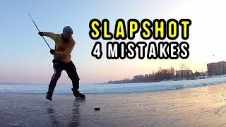 Hockey SLAPSHOT - 4 Mistakes Reviewed