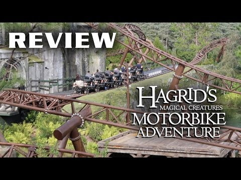 Hagrid's Magical Creatures Motorbike Adventure Review Universal's Islands of Adventure