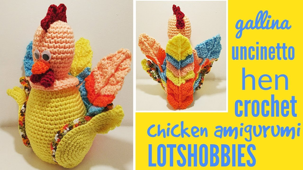 Hen & Chicks Amigurumi - Free Crochet Pattern   Craft Passion   720x1280