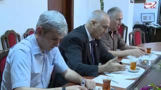 "Employees of ""Moskovskij Komsomolets"" newspaper visit AZERTAC"