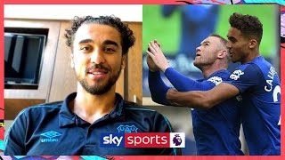 Calvert Lewin reveals what it's like to play with Wayne Rooney | Making It Pro