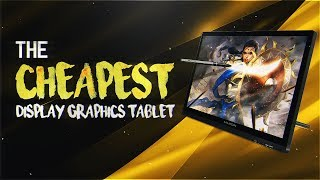 The CHEAPEST Display Graphics Tablet! - Huion Kamvas Review/Unboxing
