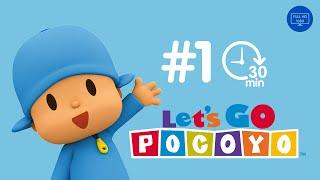 Let's Go Pocoyo! 30 MINUTOS [Episódio 1] em HD