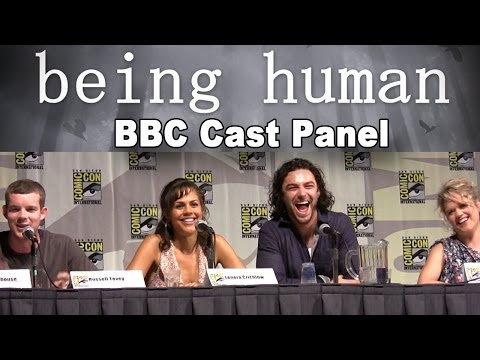 Being Human BBC Cast 2010 Comic-Con Panel