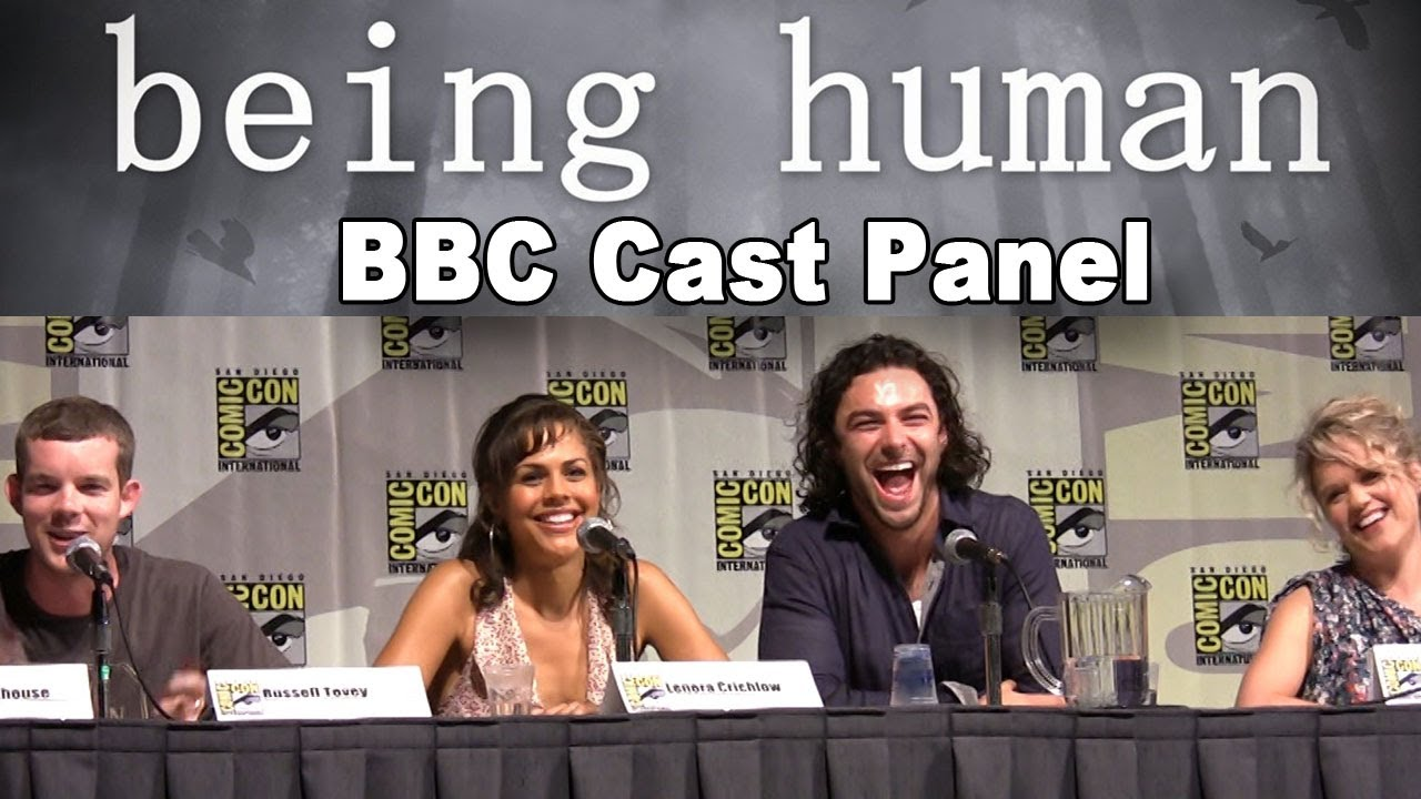 Download Being Human BBC Cast 2010 Comic-Con Panel