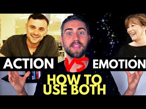 The Truth on Action and Emotions with the Law of Attraction