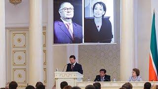 Чулпан Хаматова и Алишер Усманов стали Почетными гражданами Казани