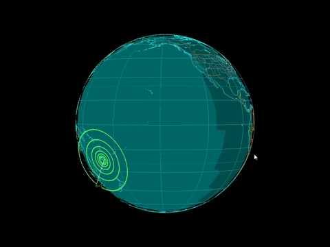 EQ3D ALERT: 10/31/17 - 6.2 magnitude earthquake in the South Pacific Ocean