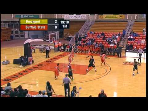 Buffalo State Men's Basketball - Pregame and First Half ...