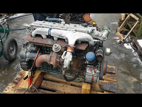 Motor VM 65 B 6 cylinder turbo diesel engine test cold start Matadotti SRL