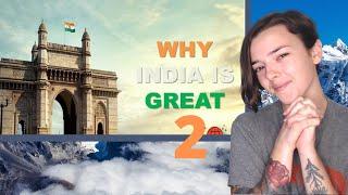 WHY IS INDIA GREAT 2 | भारत महान क्यों है 2 | REACTION | Indi Rossi
