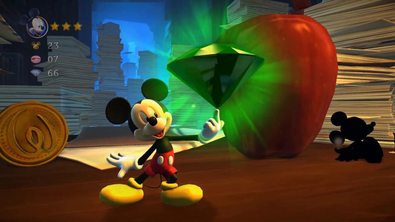 phần 4 chuột mickey tìm viên Đá lỤc siêu to khổng lồ