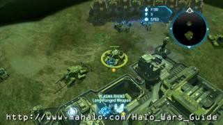 Halo Wars Walkthrough - Scarab Part 1 HD
