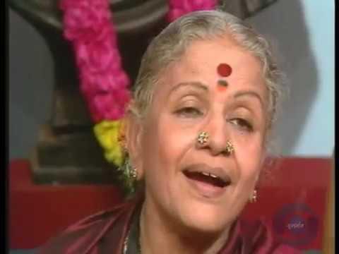 Ankhiyan Hari Darshan Ki Piyasi(अखियाँ हरी दर्शन की प्यासी-Surdas) VDO-M.S Subbulakshmi