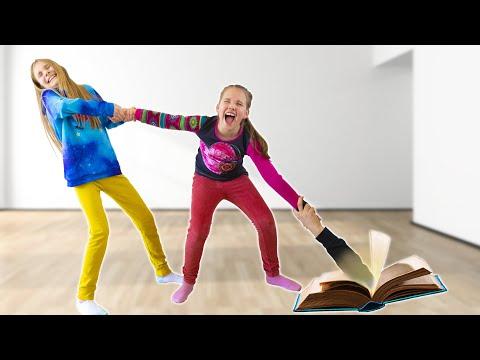 Amelia, Avelina and the Jumanji game book - Funny stories for kids