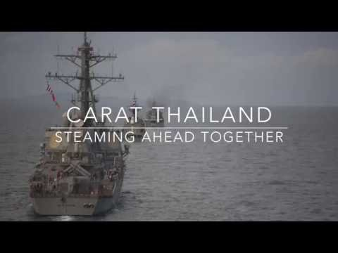 CARAT Thailand-Ship Formations