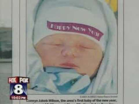 First Baby of 2008 Murdered