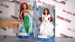 Обзор на две куклы Ариель Дисней с хвостом и Невесту и сравним их