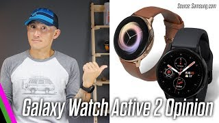 Samsung Galaxy Watch Active 2 - Opinion // NEW Touch Bezel, ECG, LTE, and Heart Rate Sensor