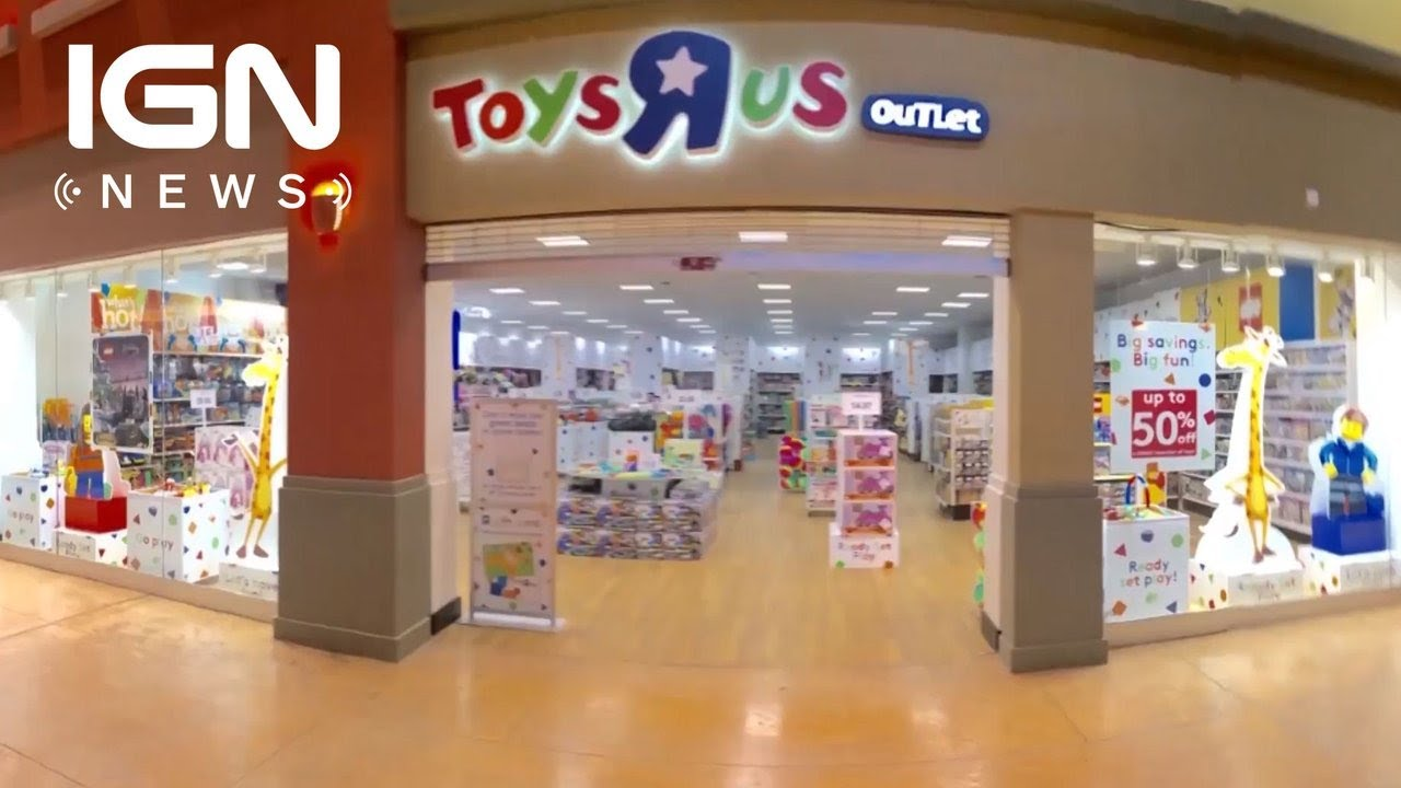Toys R Us Comes Back From The Dead Ign News Youtube
