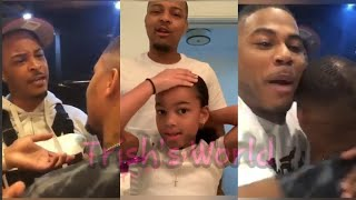 Bow Wow Gets An INTERVENTION From TI & Nelly For D!S®️ESPECT of Ciara. Bonus Video With Daughter