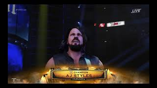 WWE 2K19: WWE Championship Match: AJ Styles vs. Jinder Mahal