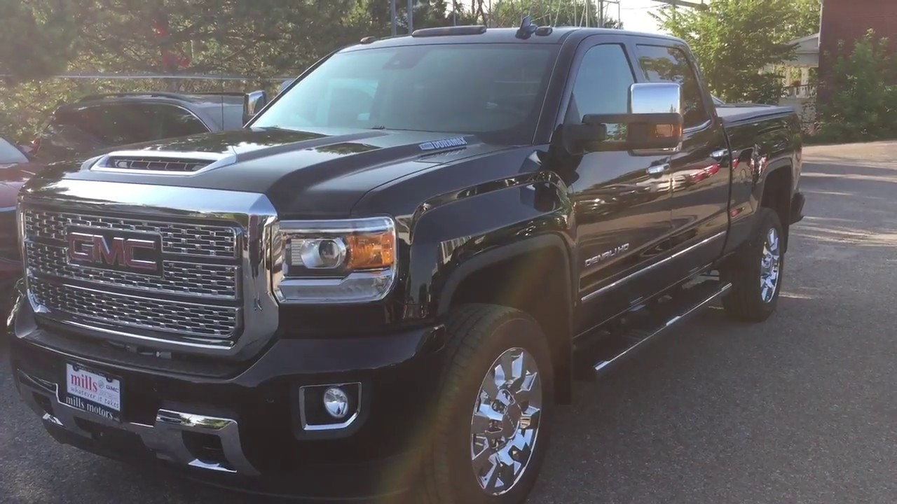 2019 Gmc Sierra 2500hd Denali Sel 5th Wheel Gooseneck Prep Z71 Suspension Oshawa On Stock 190010
