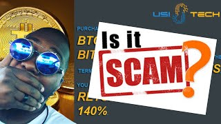 WTF?! USI-Tech Exit Scam Initiated??? Or Website Update???