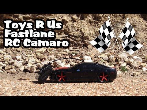 Toys R Us Fastlane CAMARO Radio Controlled Toy Car - SHOWING OFF