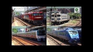JR鹿児島本線 香椎駅6連発(811系原色&883系&キハ40系&EH500貨物)