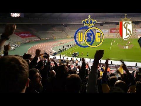 Union SG VS. Standard Luik 2-2   Sfeerverslag (Fancam)