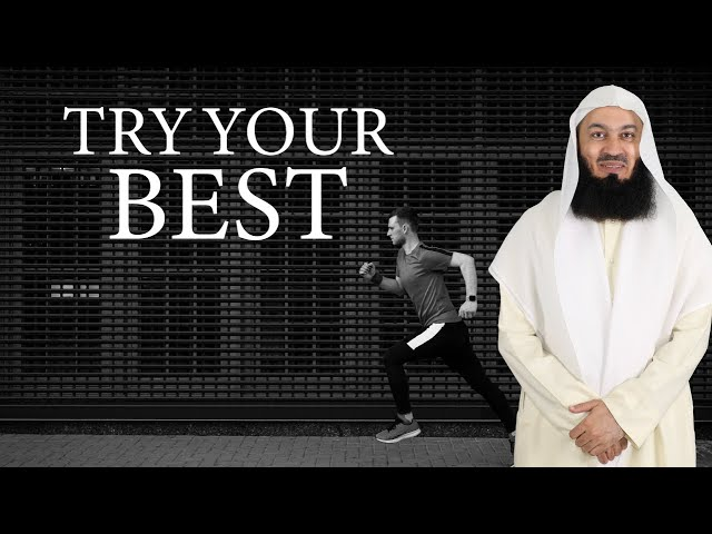 What is in your capacity? Mufti Menk