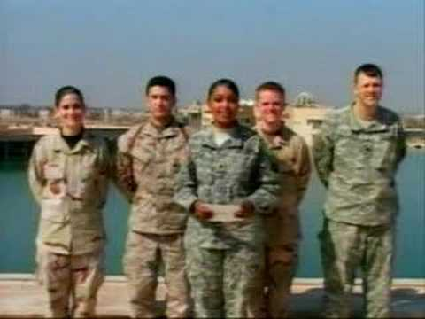 American Troops present an award at the Oscars®