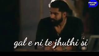 Main vichara kismat hara nyc emotional song video for whatsapp status clips...
