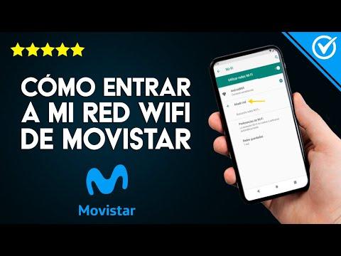 Cómo Entrar a mi Router y ver o Cambiar la Clave de mi red WiFi Movistar