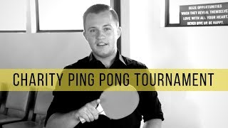 Why We're Hosting A Charity Ping Pong Tournament | Theory Vlog 41