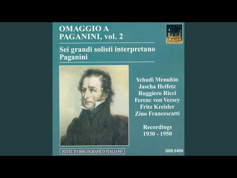 24 Caprices, Op. 1: Caprice No. 20 in D Major (arr. for violin and piano)