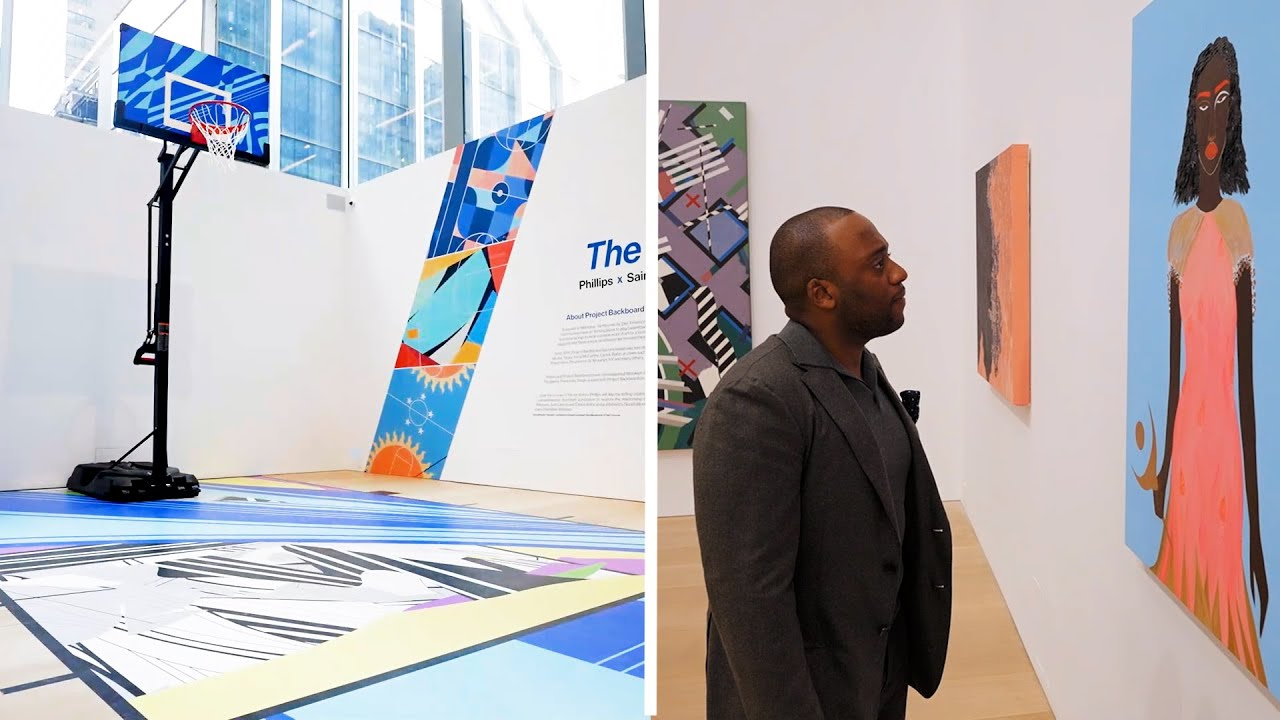'Art and Basketball:' NYC Gallery's Unique Auction to Benefit Haiti Relief