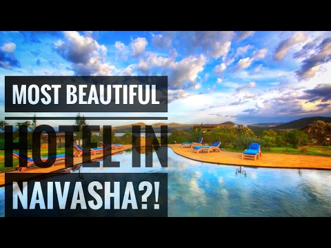 TRAVEL VLOG | MOST BEAUTIFUL HOTEL IN NAIVASHA? KONGONI LODGE