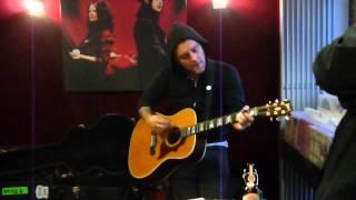 Dave Hause - Pray For Tucson live @ Ratzer Records Stuttgart 31.10.2012