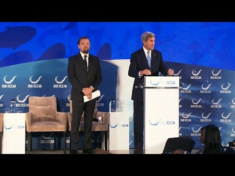 Remarks with Leonardo DiCaprio at the 2016 Our Ocean Conference