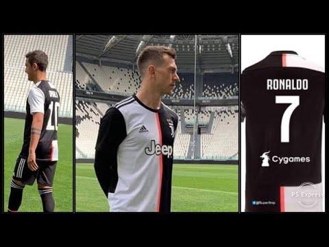 Juventus, UFFICIALE la maglia Home 2019/2020. È davvero brutta?